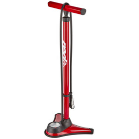 Red Cycling Products Big Air Easy Pressure Standpumpe rot